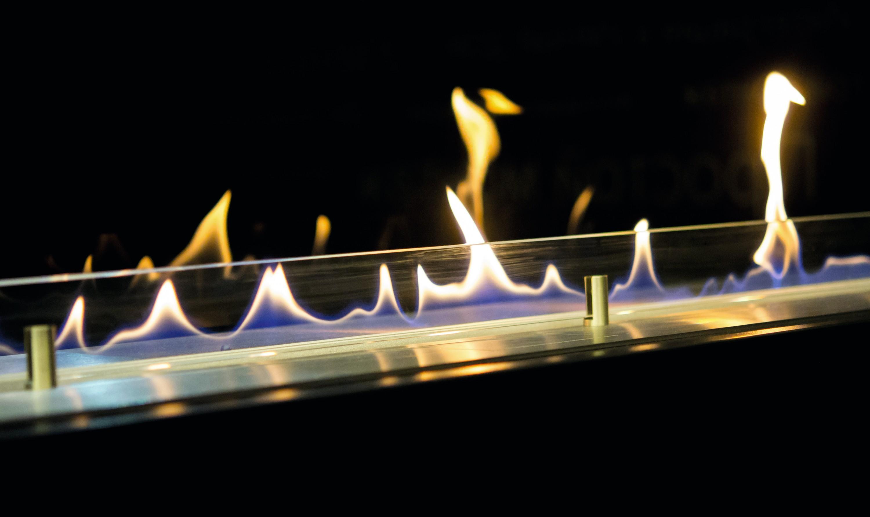 Une cheminée à l'éthanol