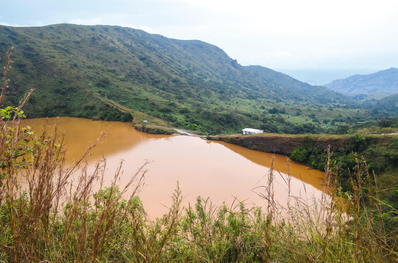 Le lac Nyos, Cameroun