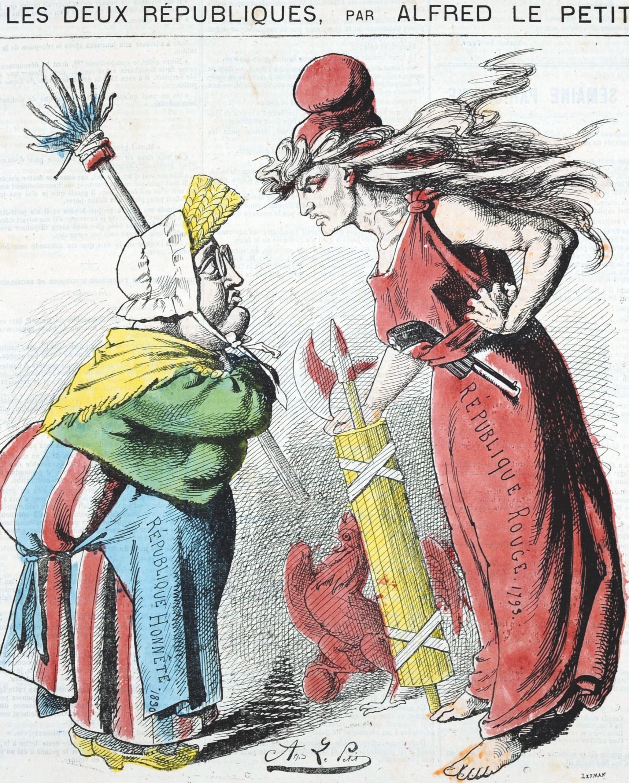 Alfred Le Petit, Les Deux Républiques