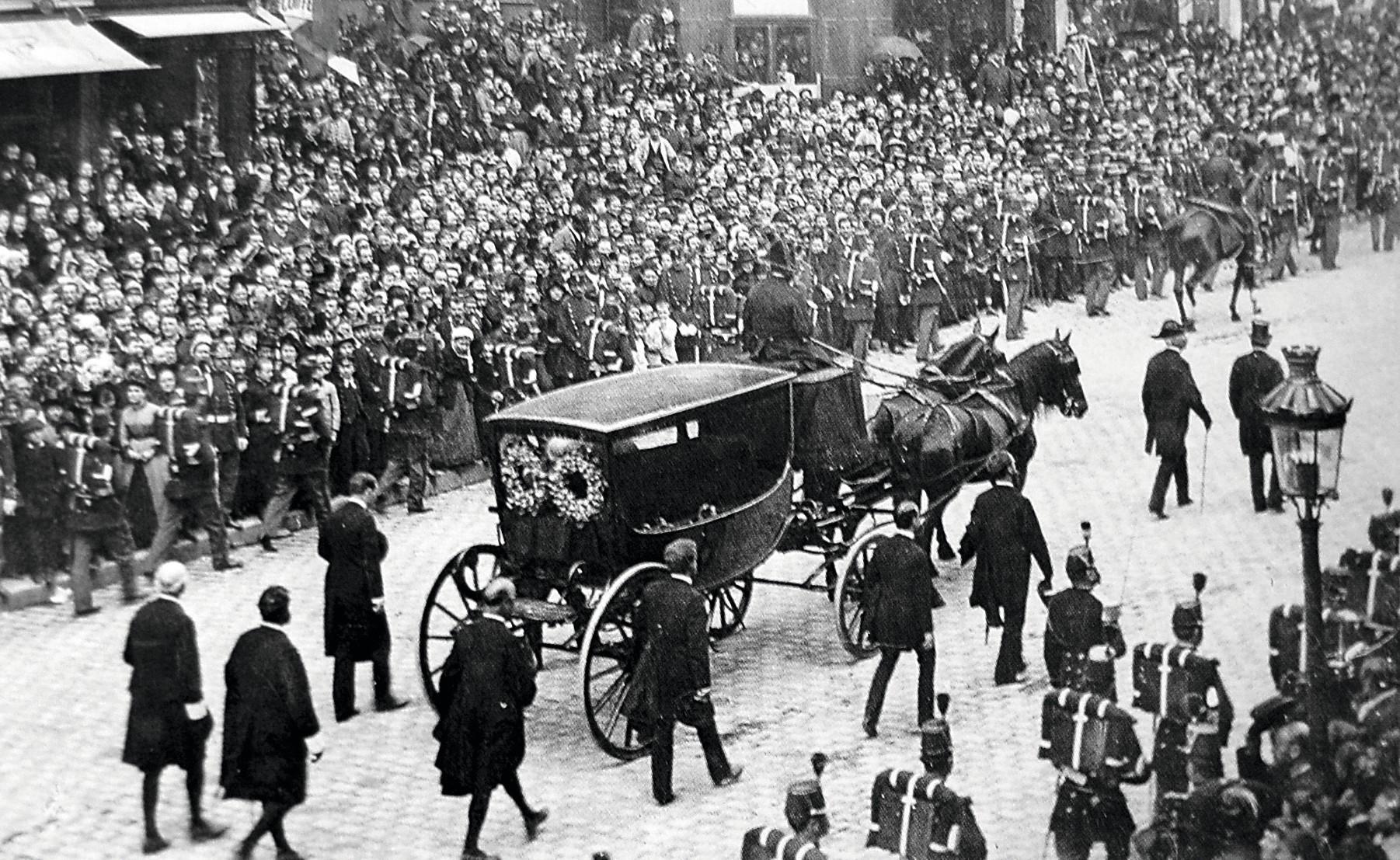 Le transfert du cercueil de Victor Hugo