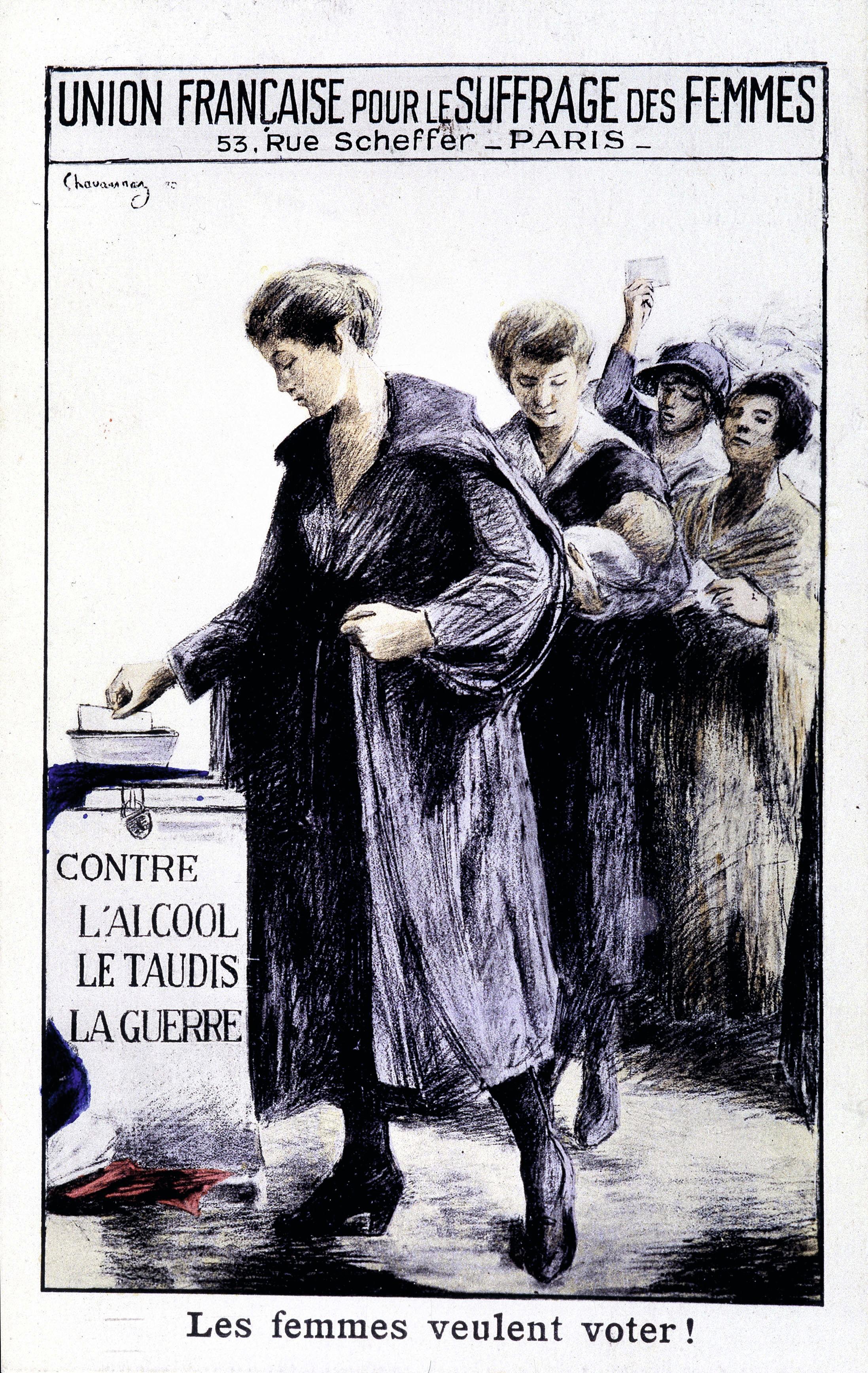 L'Union française pour le suffrage des femmes