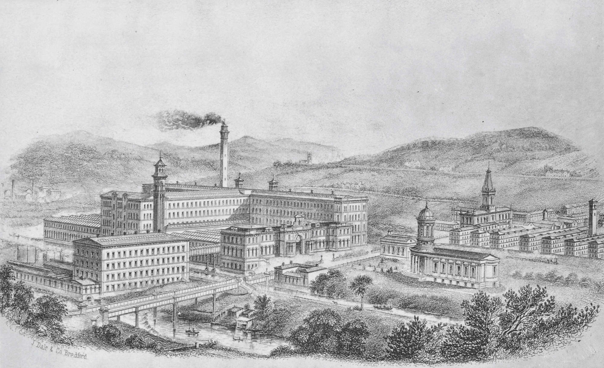 Saltaire, London British Library, 1877.