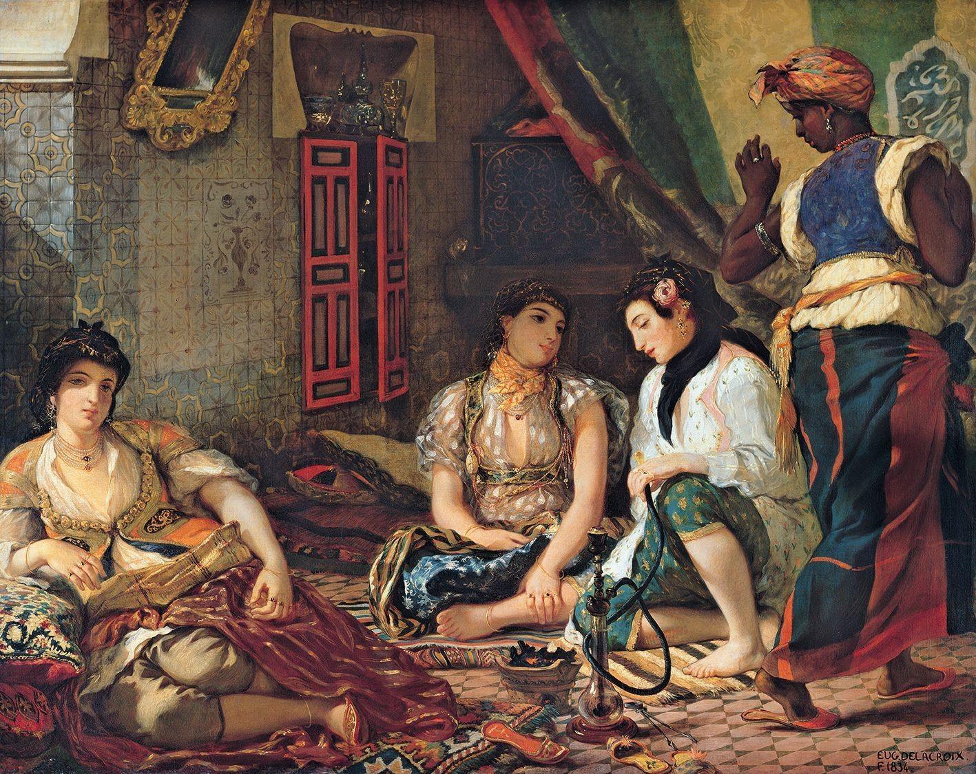 Eugène Delacroix, Le Naufrage de Don Juan, 1840