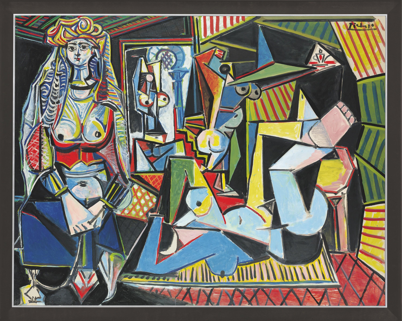 Femme d'Alger version O Picasso
