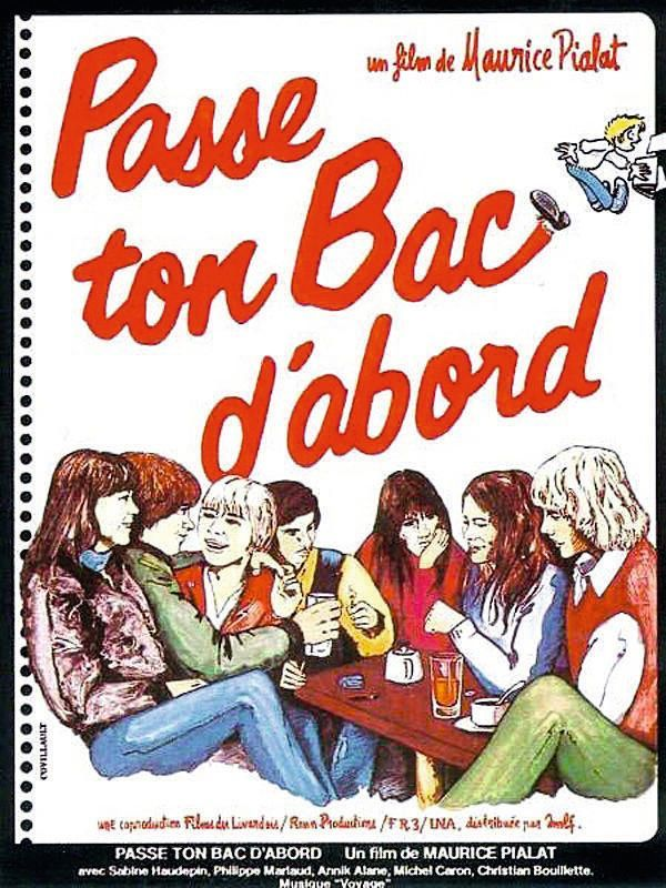 Maurice Pialat Passe ton Bac d'abord 1978