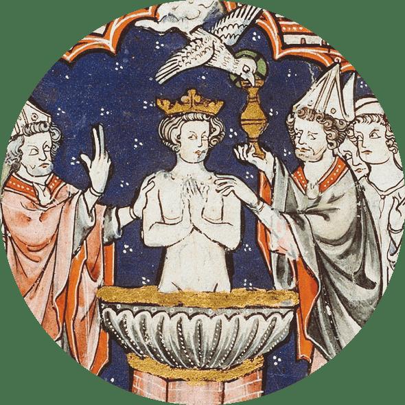 Le baptème de Clovis