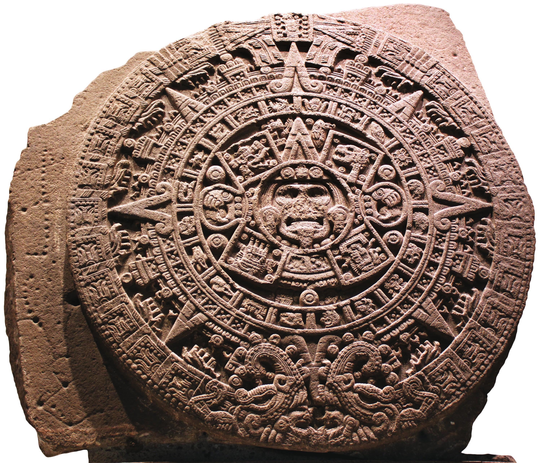 Pierre calendaire aztèque