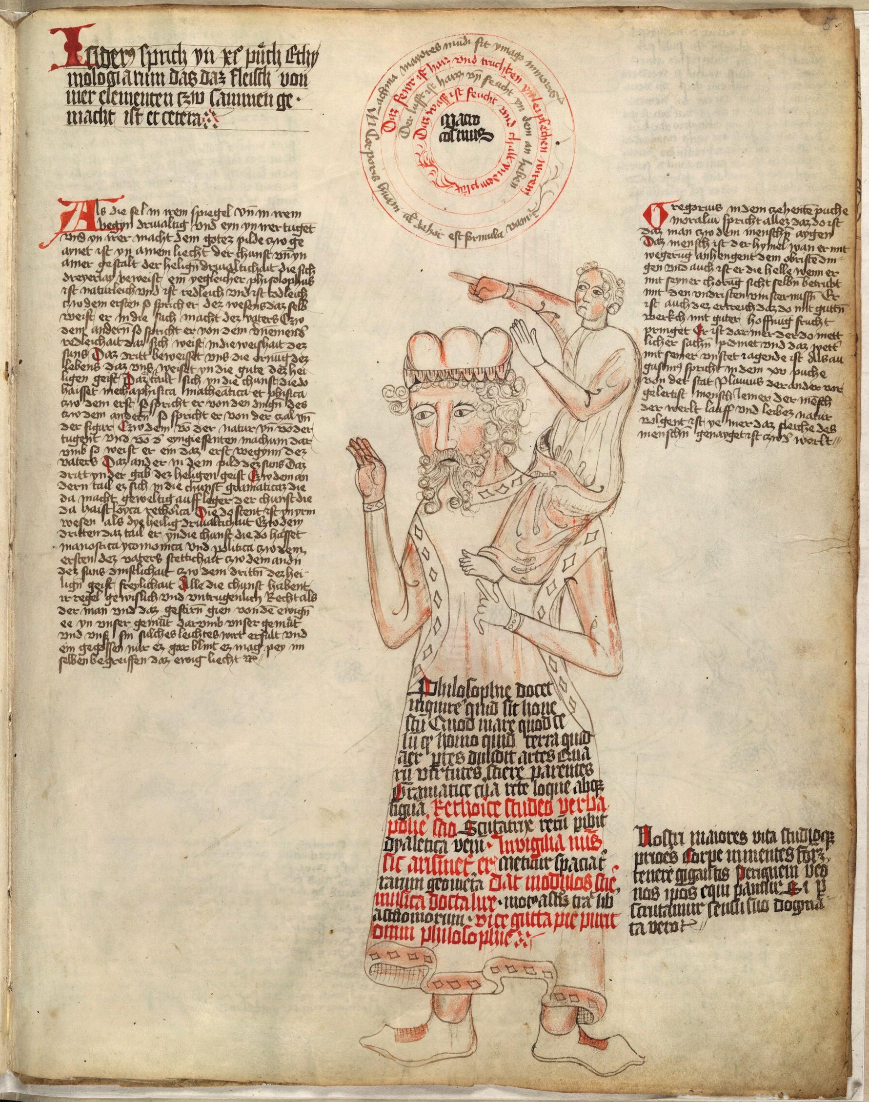Enluminure, Encyclopédie