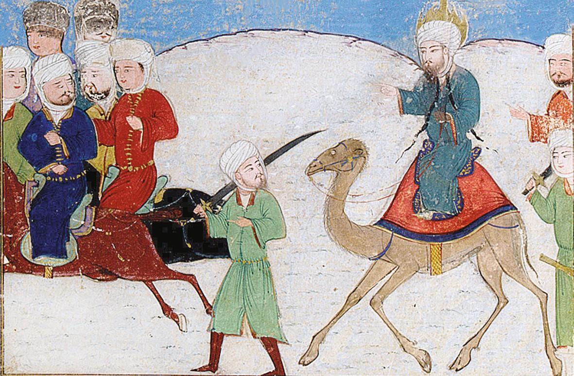 Représentation de l'Hégire, Majma al Tawarikh