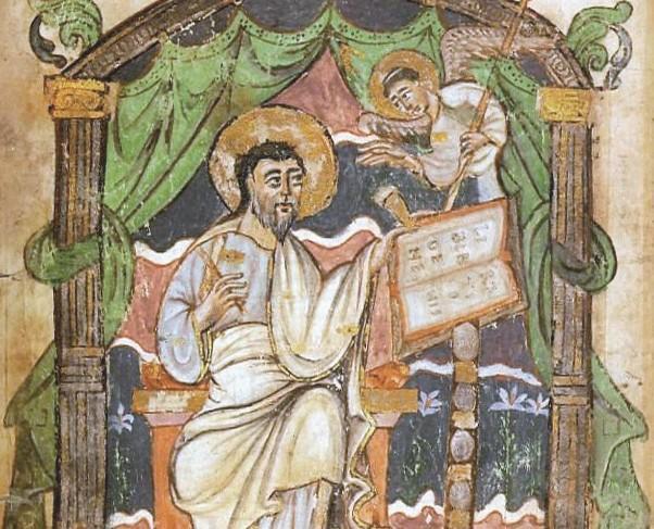 Saint Mathieu vêtu à la romaine