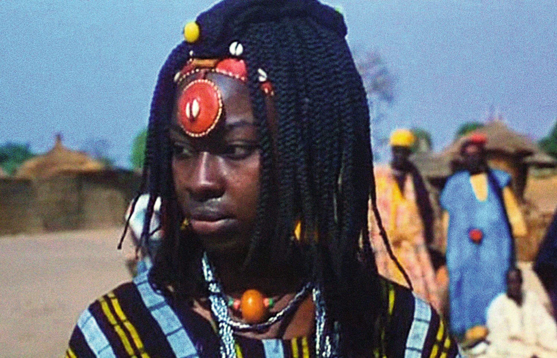 Photogramme du film Ceddo d'Ousmane Sembène, 1977.