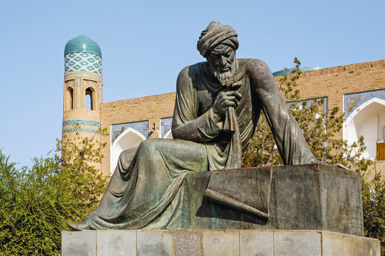 Statue de Al-Khwarizmi