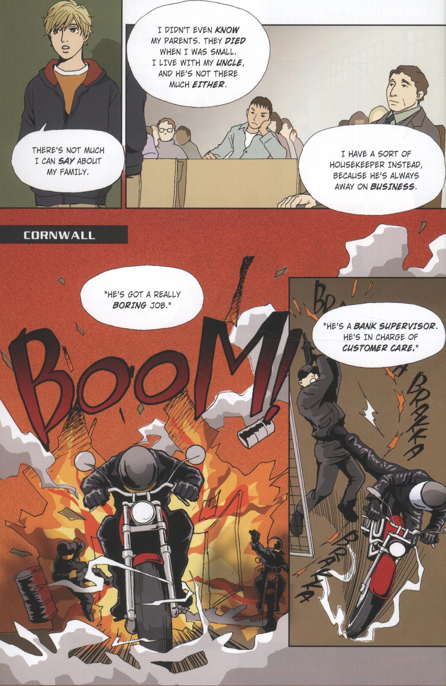 Stormbreaker by Anthony Horowitz, Antony Johnston and illustrated by Kanako & Yuzuru