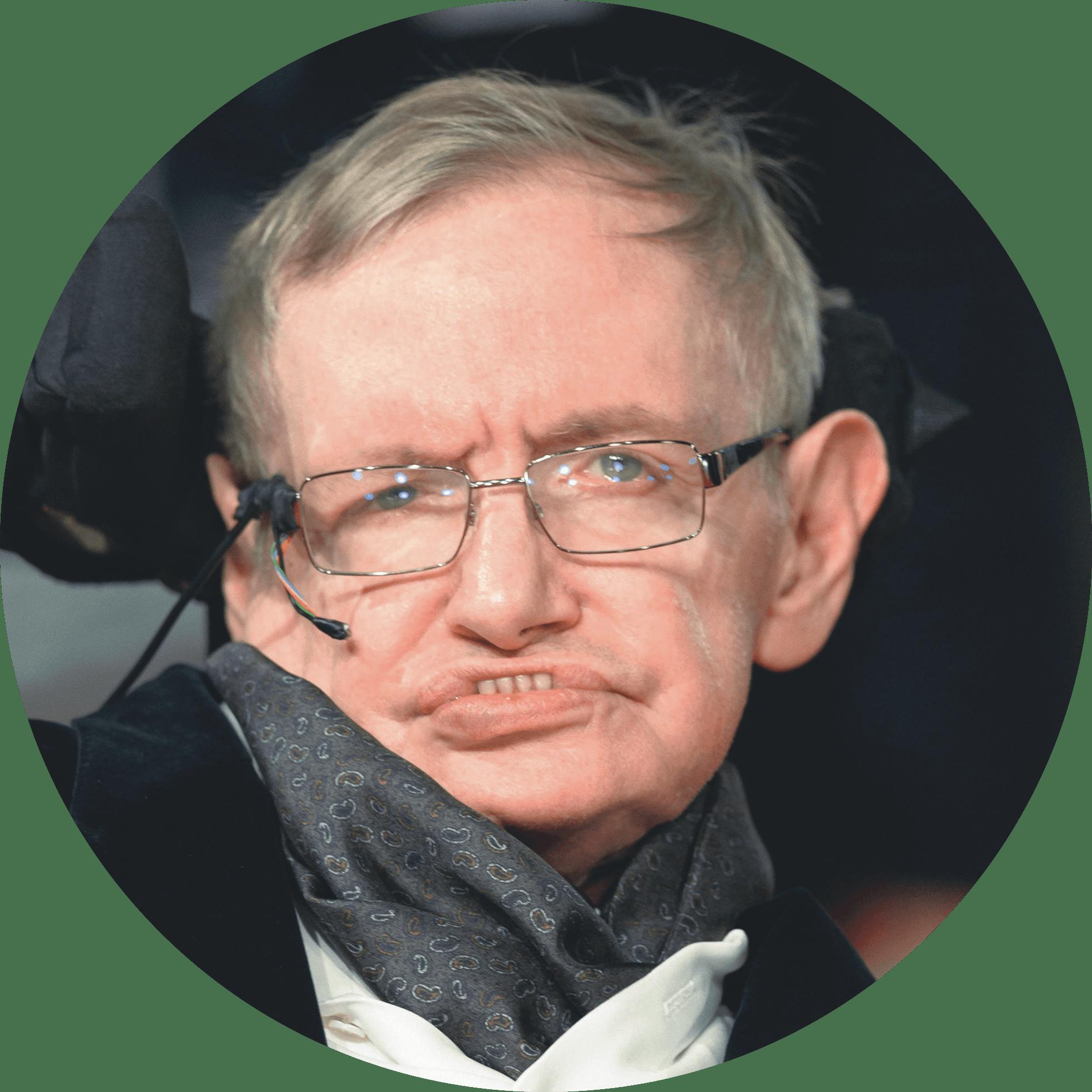 Portrait Stephen Hawking