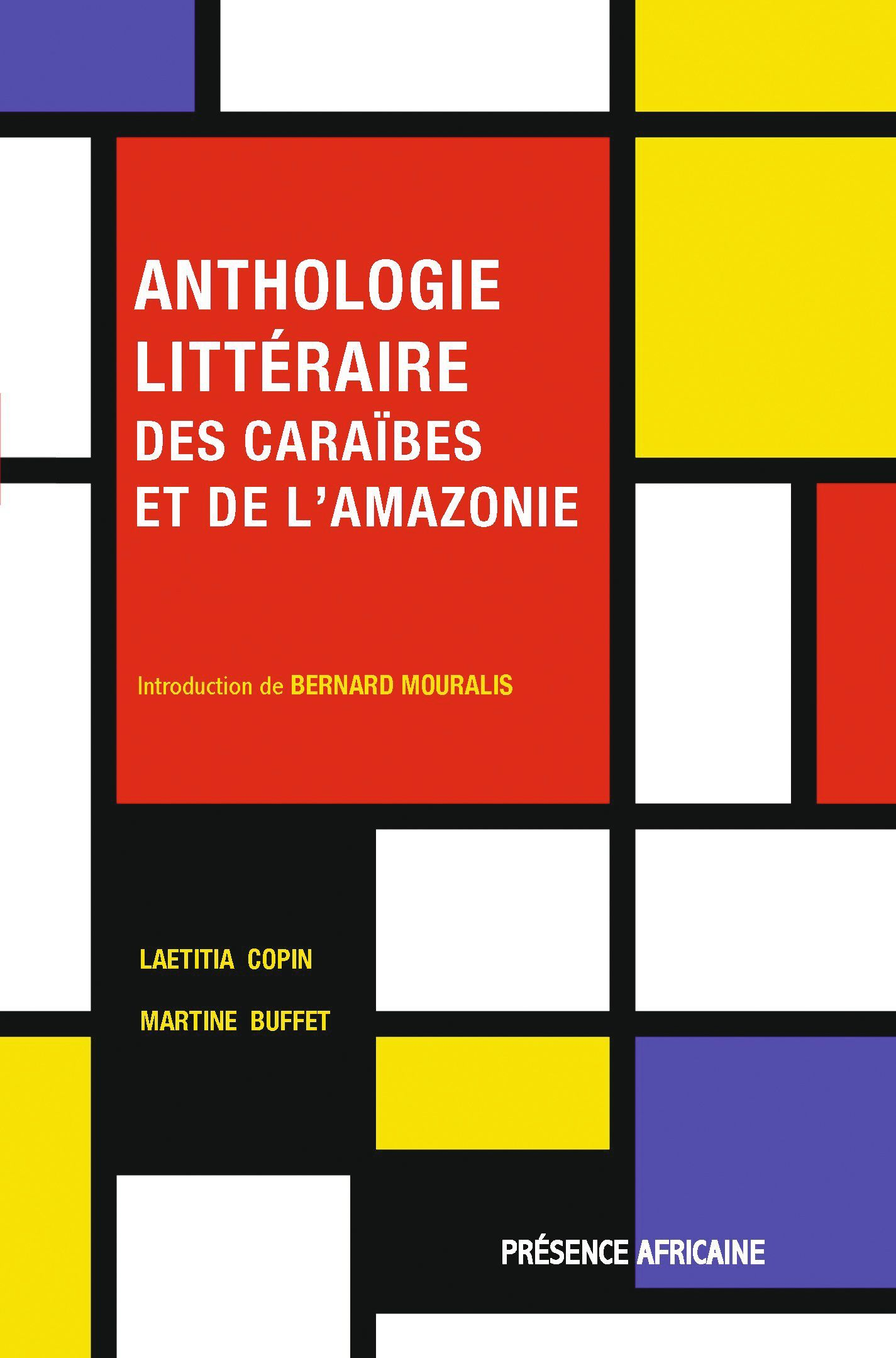 Couverture Anthologie litteraire des-Caraibes et de l'Amazonie