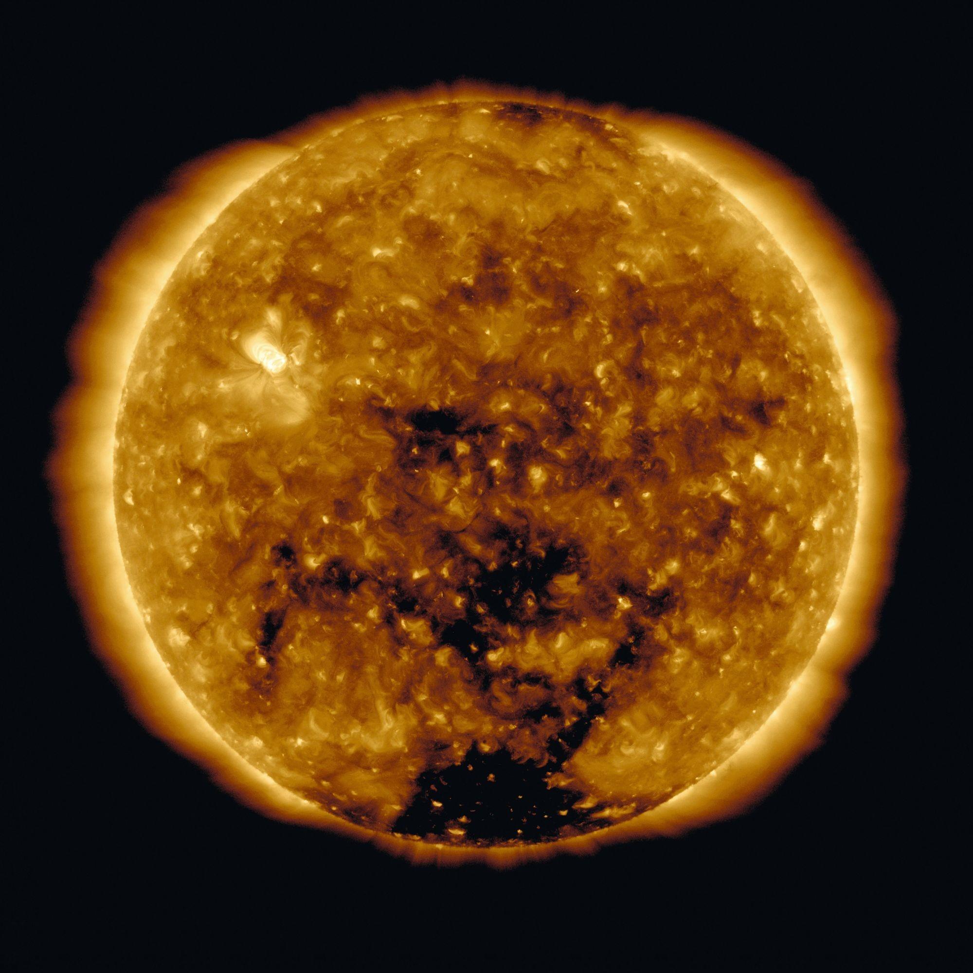 image éruption solaire