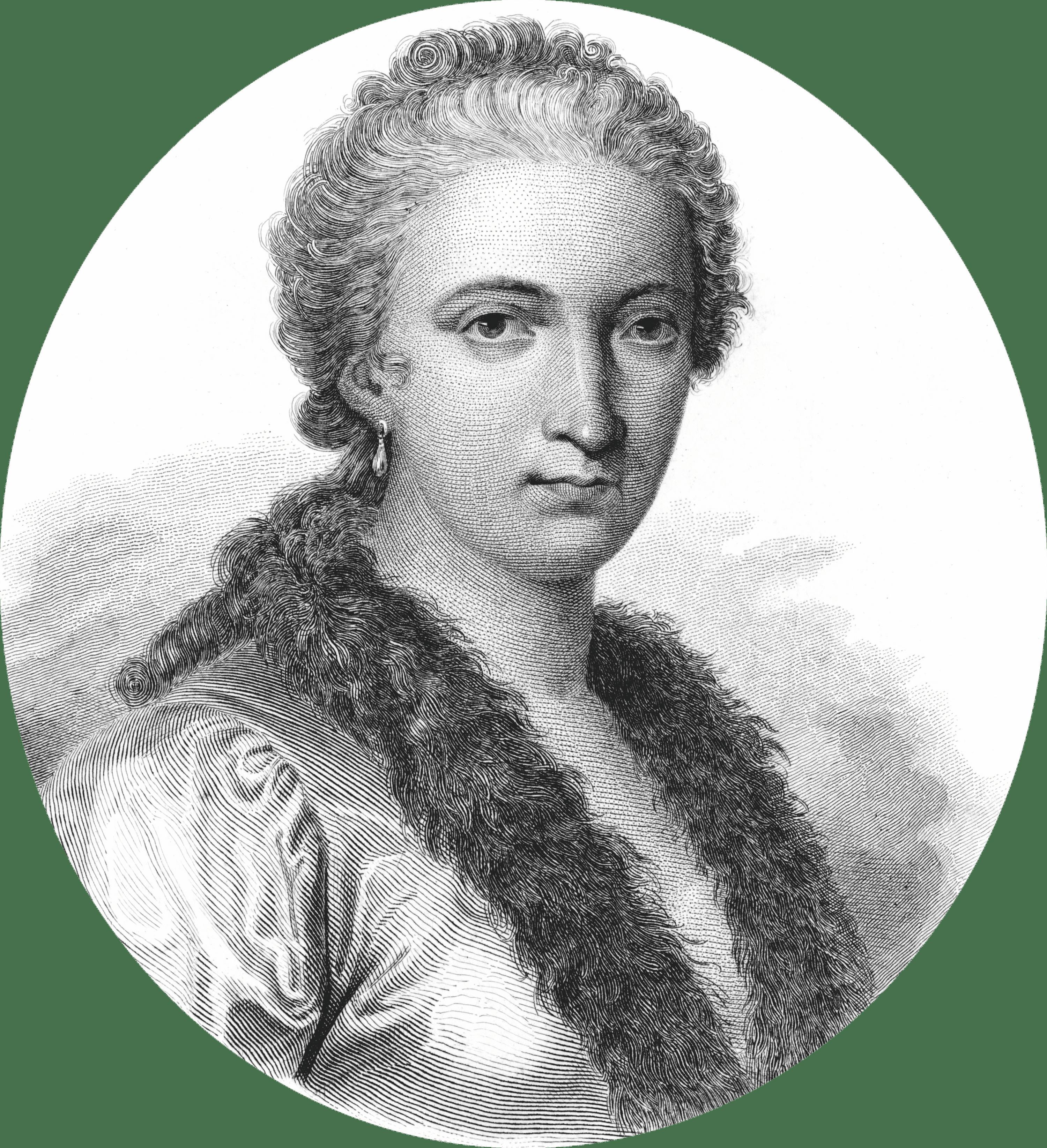 Portrait de Maria Gaetana Agnesi