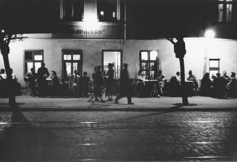 Café de Belgrade en 1958