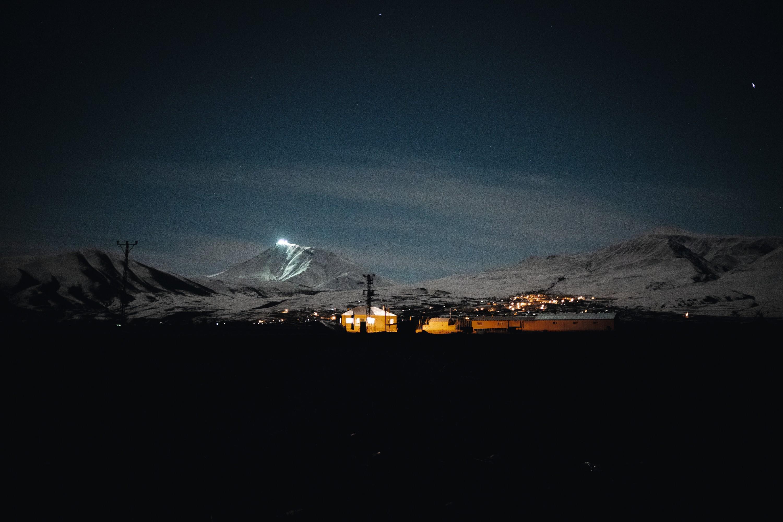 Stanisław Eon du Val, Frontière Turquie-Iran ‒20°C, janvier 2018, photographie.