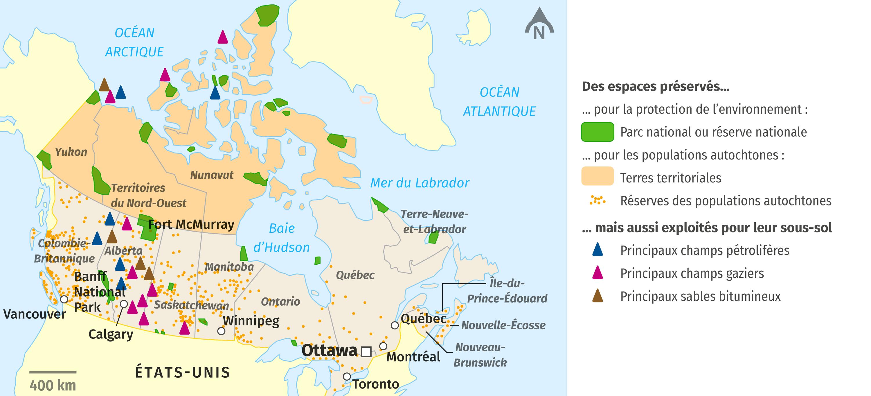 Les parcs nationaux au Canada