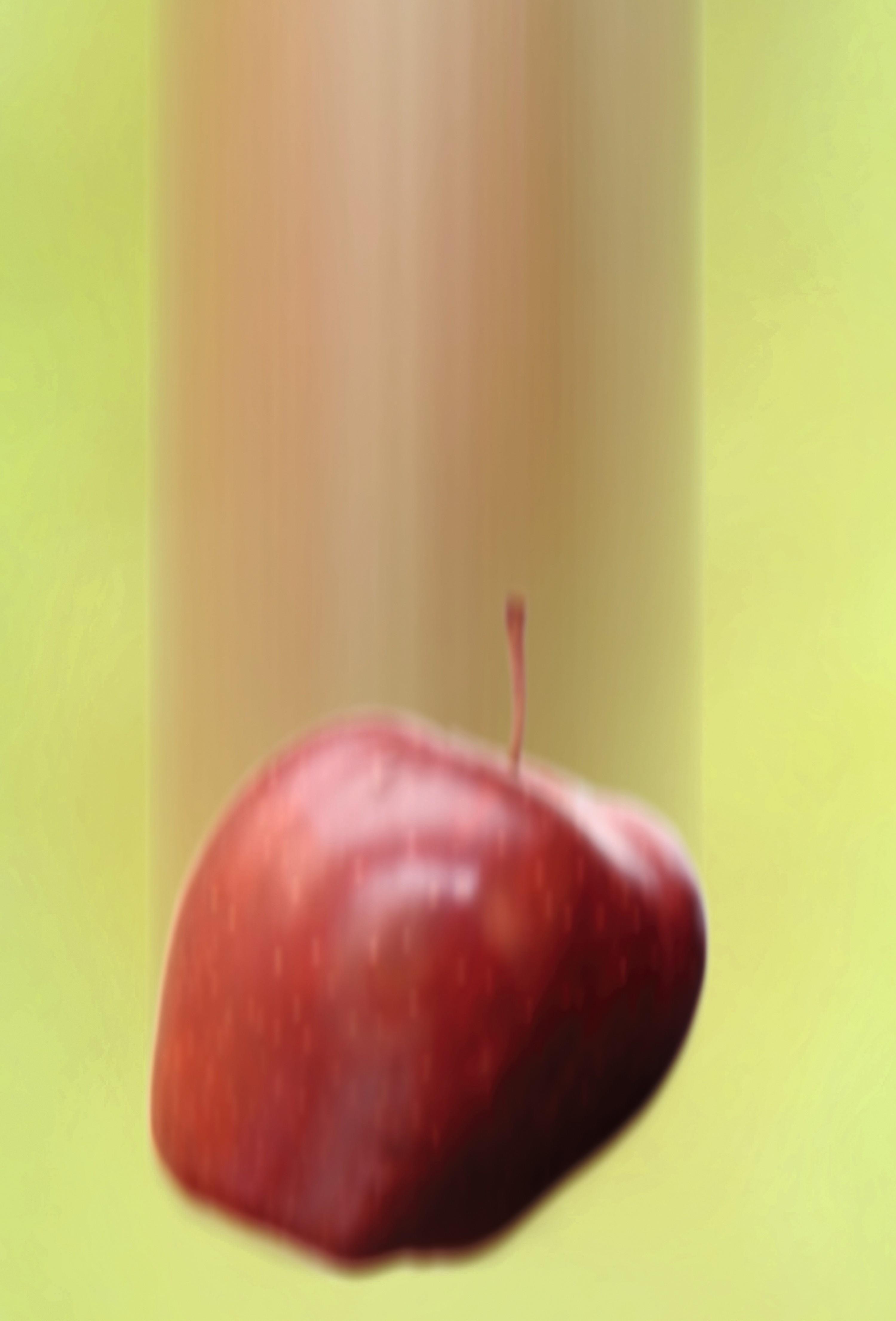 Le champ de pesanteur : chute d'une pomme