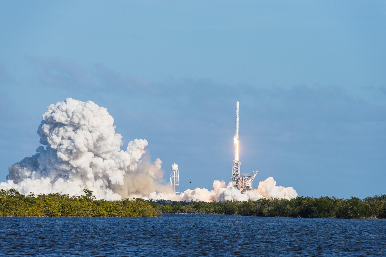 La fusée Falcon Heavy