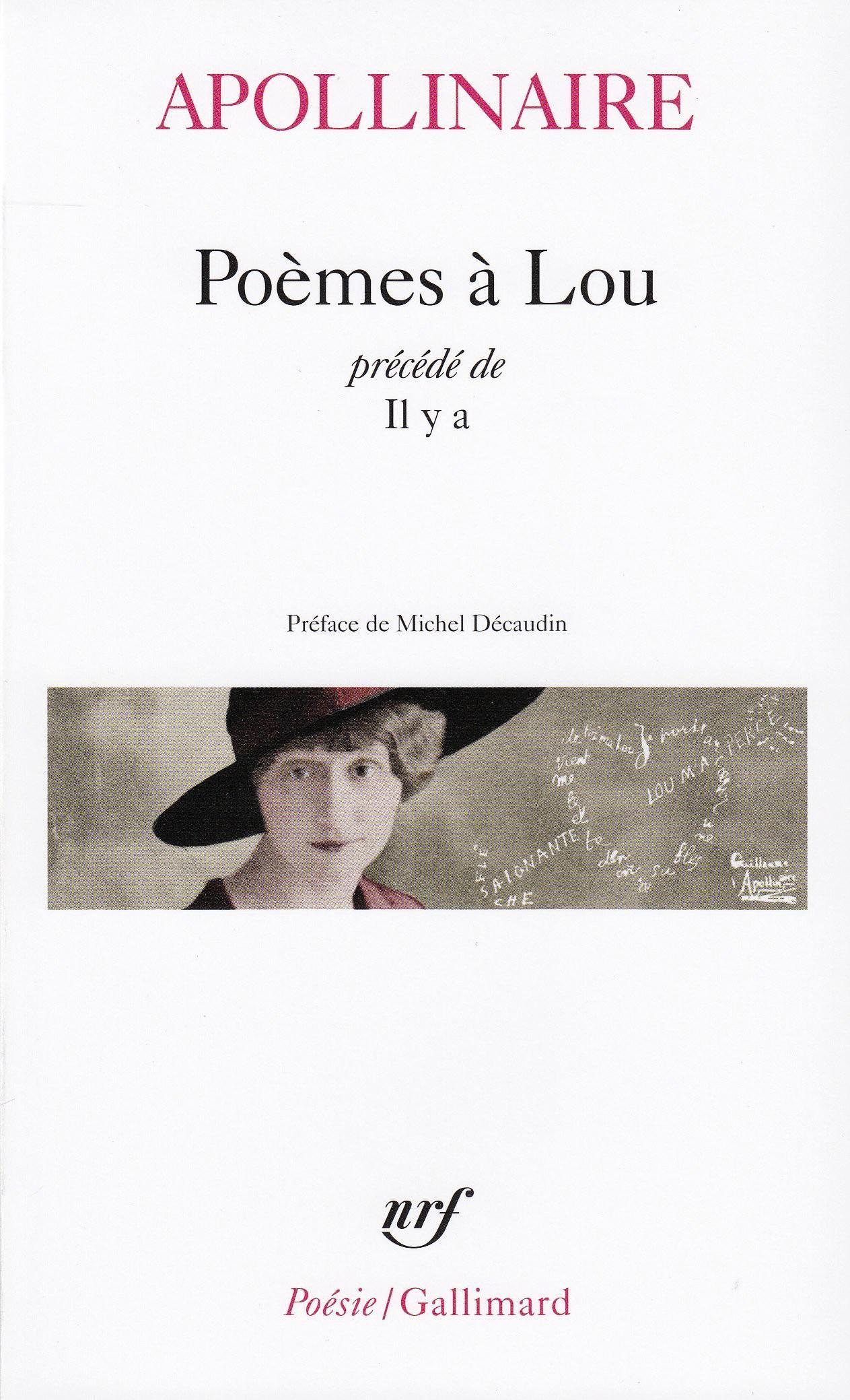 Couverture Poemes a Lou de Guillaume Apollinaire