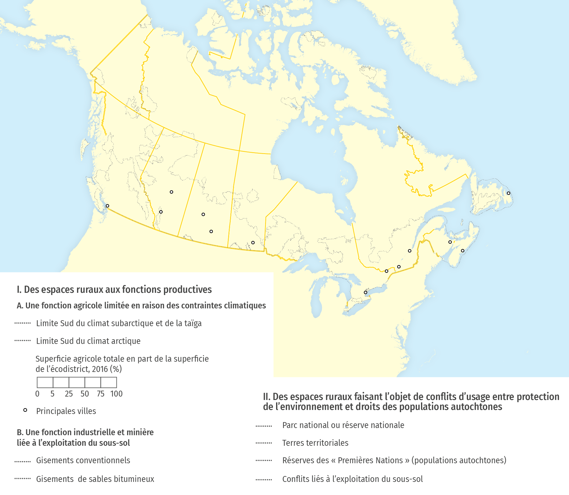 Les espaces ruraux canadiens : une multifonctionnalité marquée