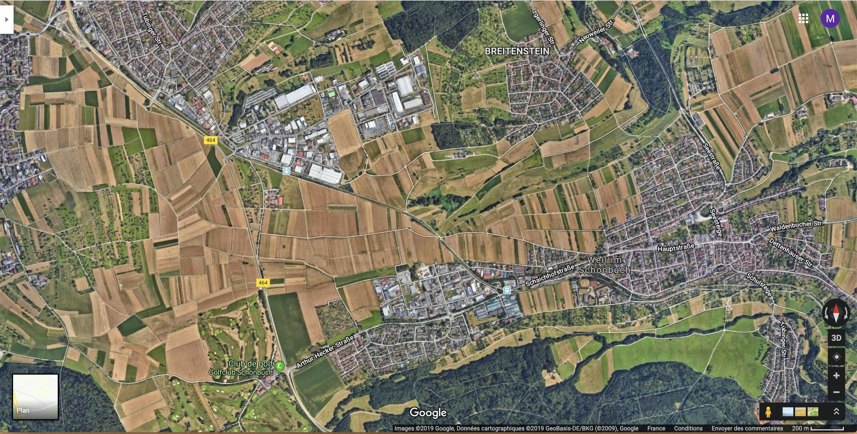 La multifonctionnalité dans une campagne périurbaine en Allemagne