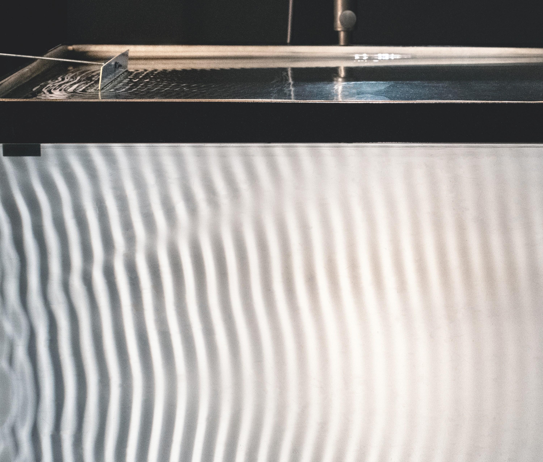Observation d'une onde à l'aide d'une cuve à ondes