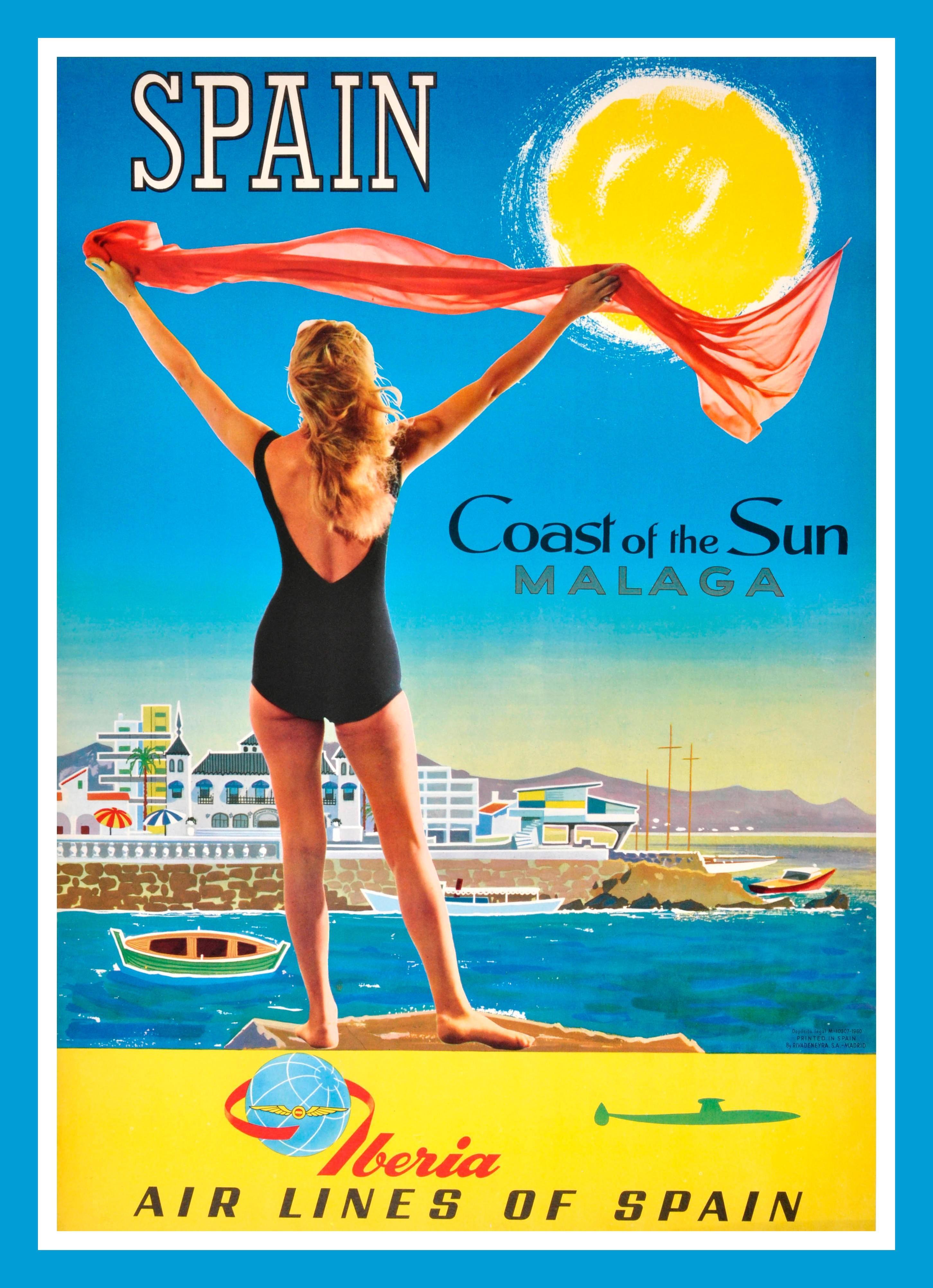 Cartel turístico Iberia