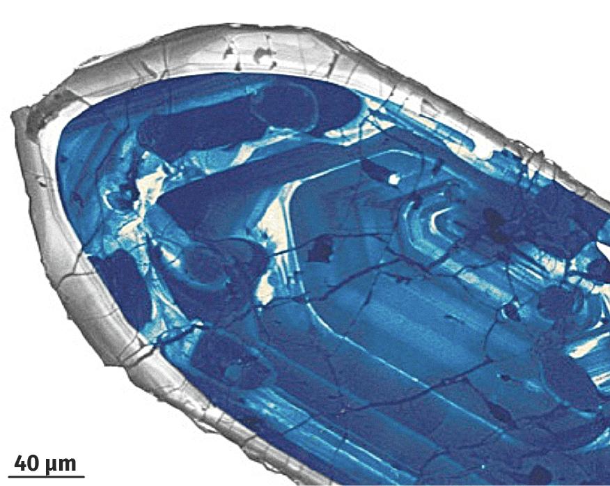 Le zircon, un minéral datable