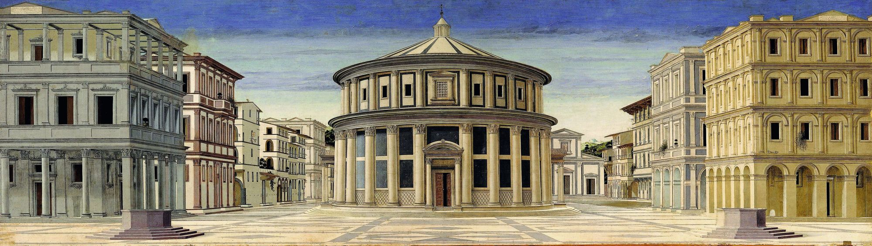 Città ideale - Galleria Nazionale delle Marche, Urbino.