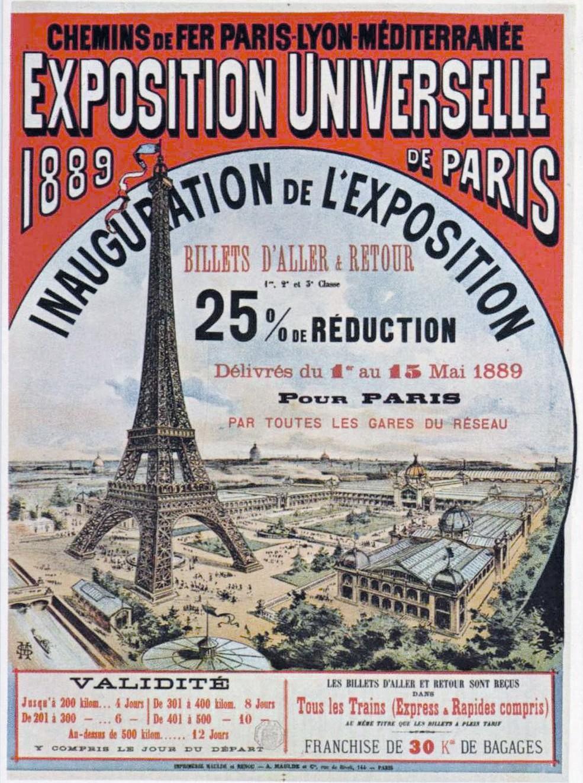 Affi che publicitaire Exposition Universelle