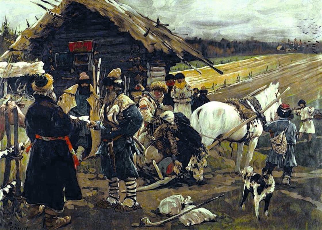 La Russie tsariste connaît une réforme agraire à partir du milieu du XIXe siècle.