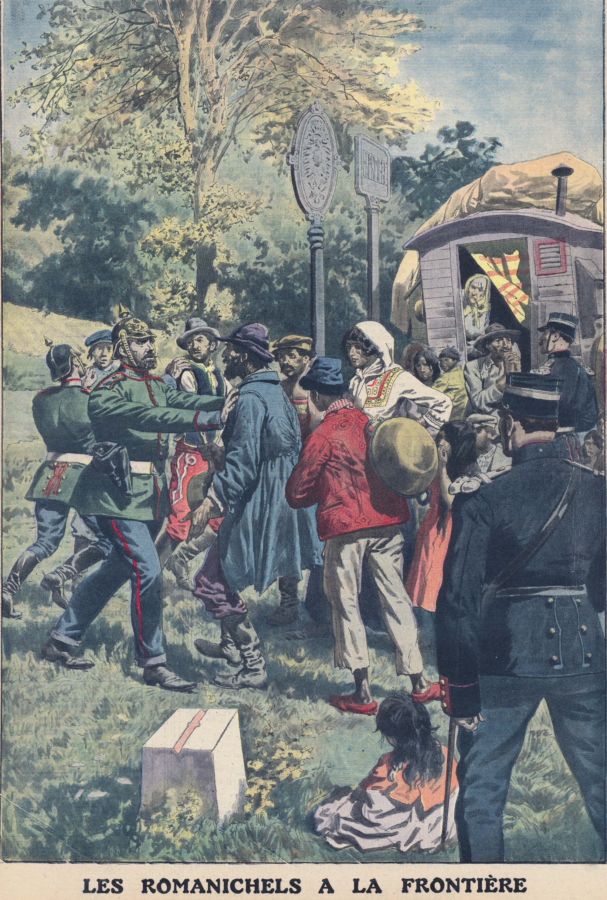nomades, Le Petit Journal, 8 septembre 1912