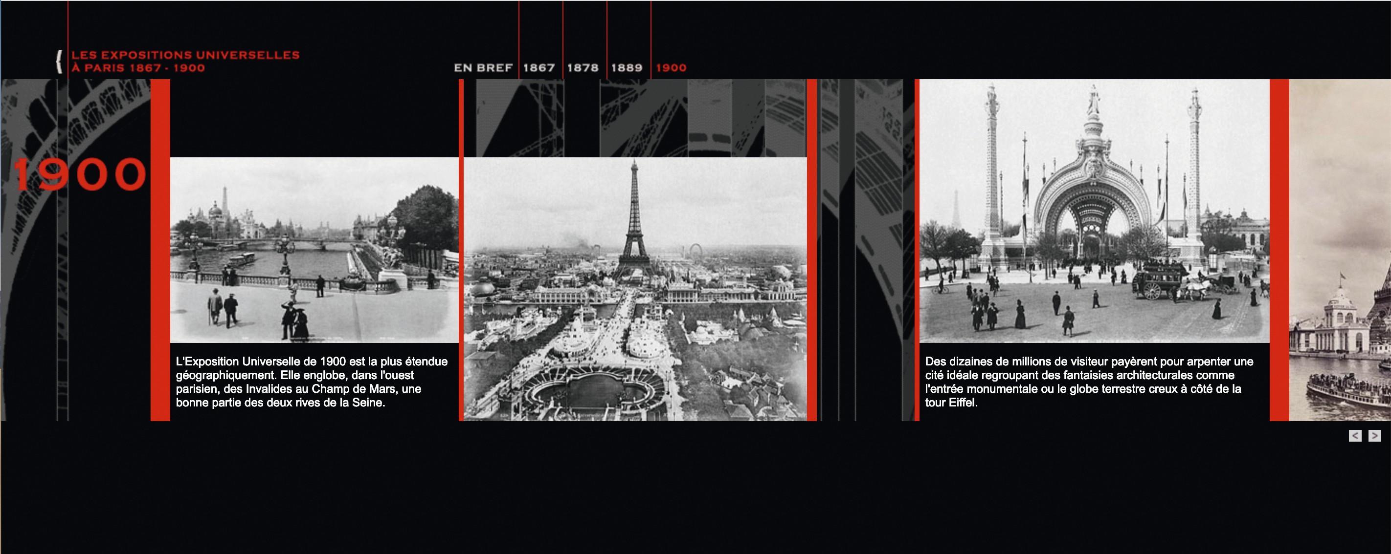 « Les Expositions universelles à Paris, 1867‑1900 », exposition de la BnF, 2005.