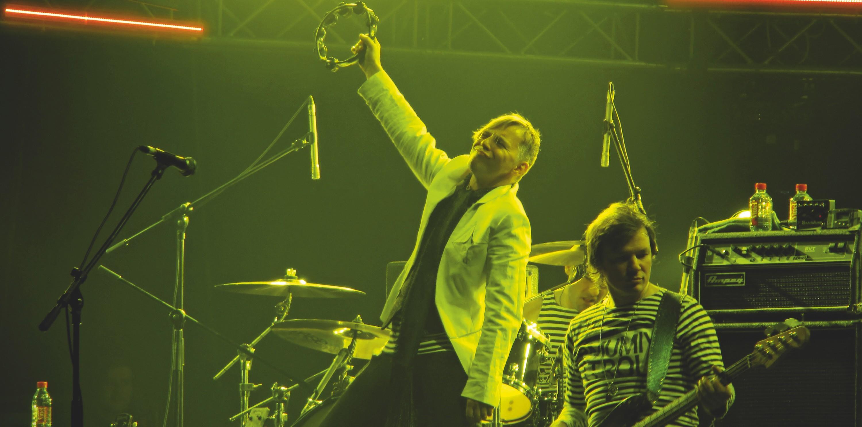 Concert en lumière jaune
