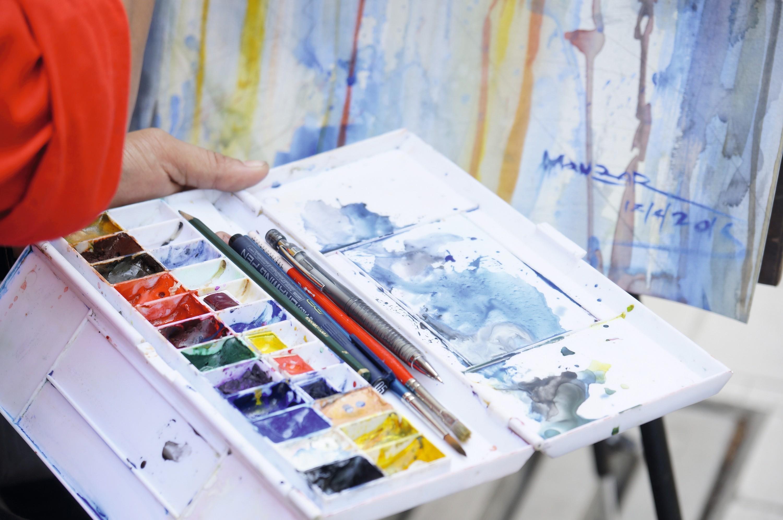 Les couleurs en peinture