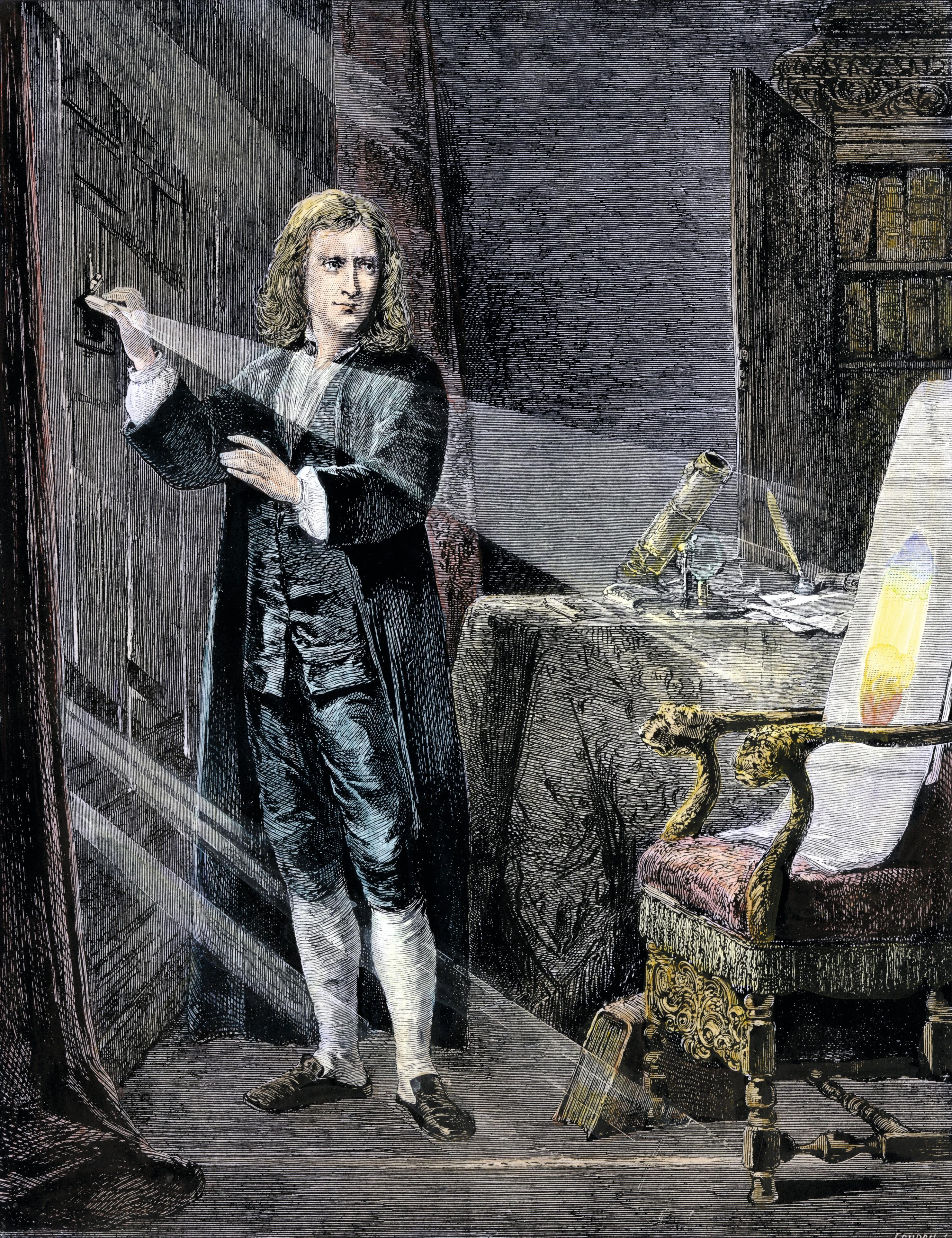 L'expérience de Newton