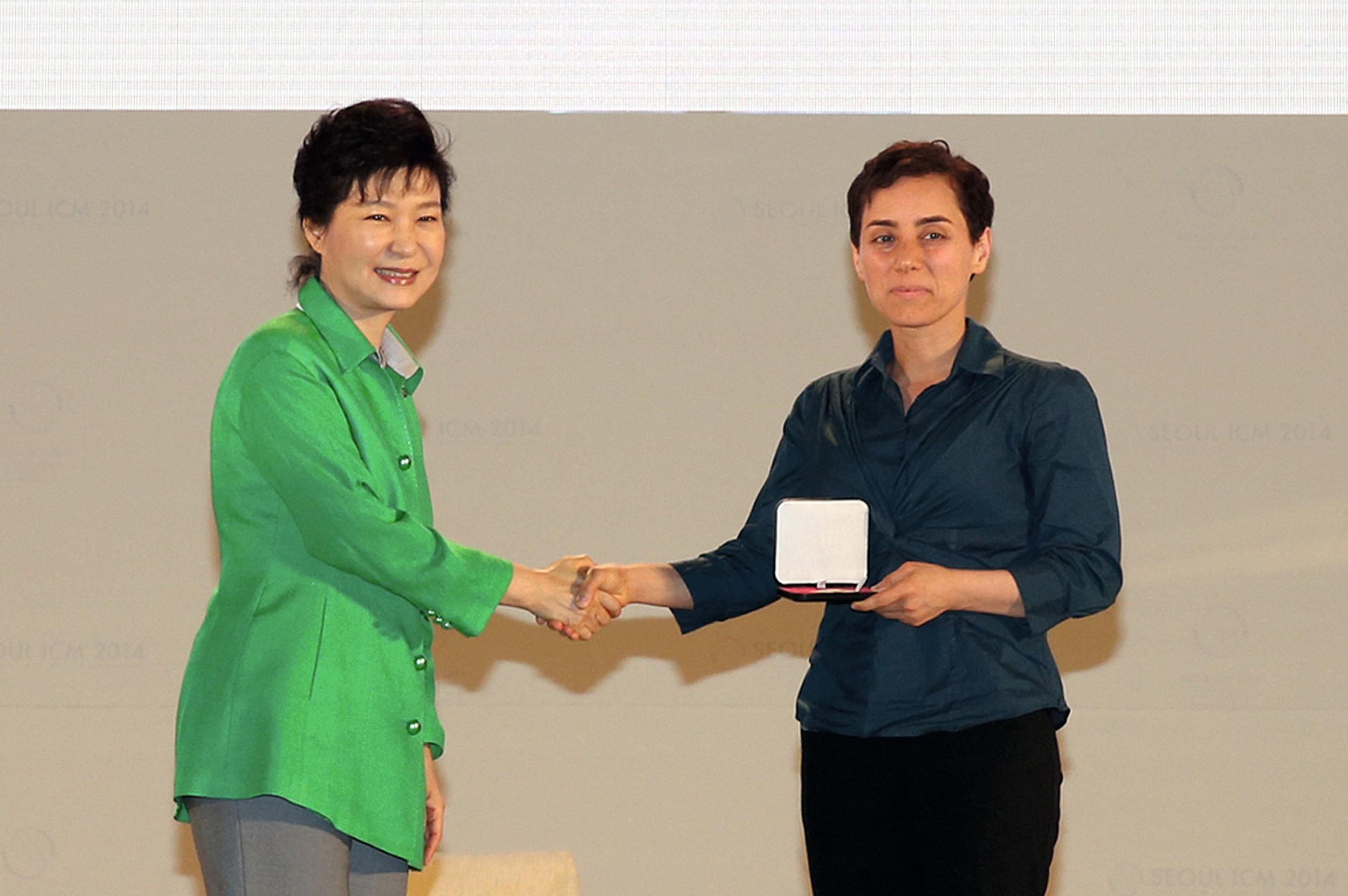 Maryam Mirzakhani.