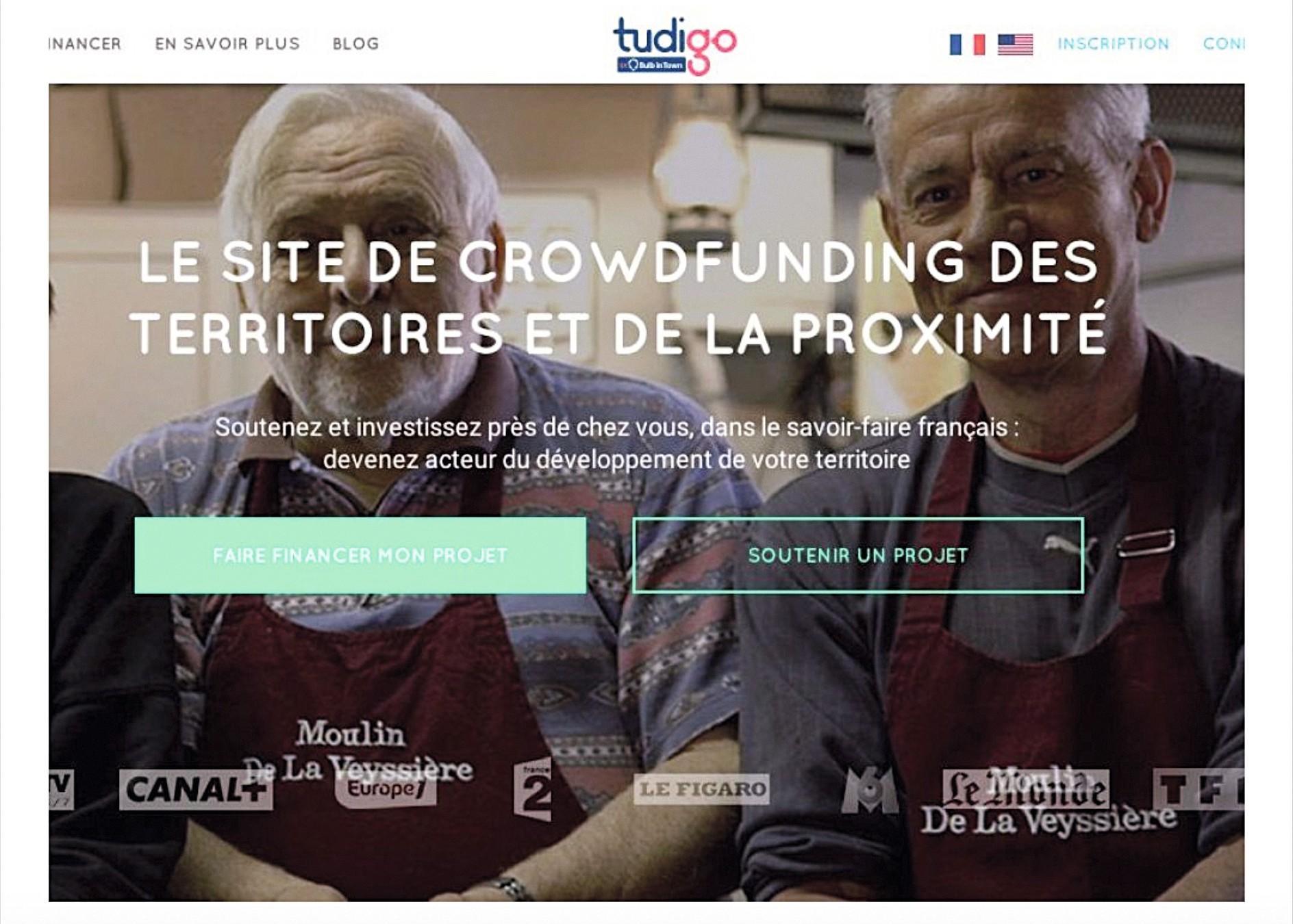 age d'accueil du site de crowdfunding Tudigo.