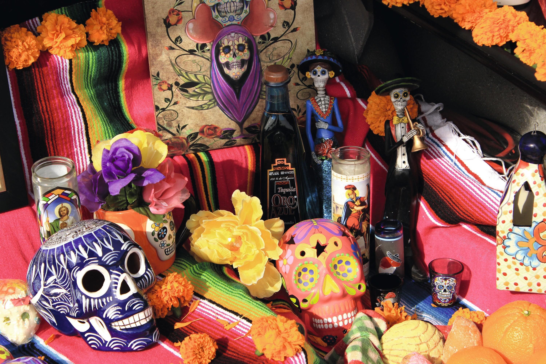 Día de los Muertos en México.