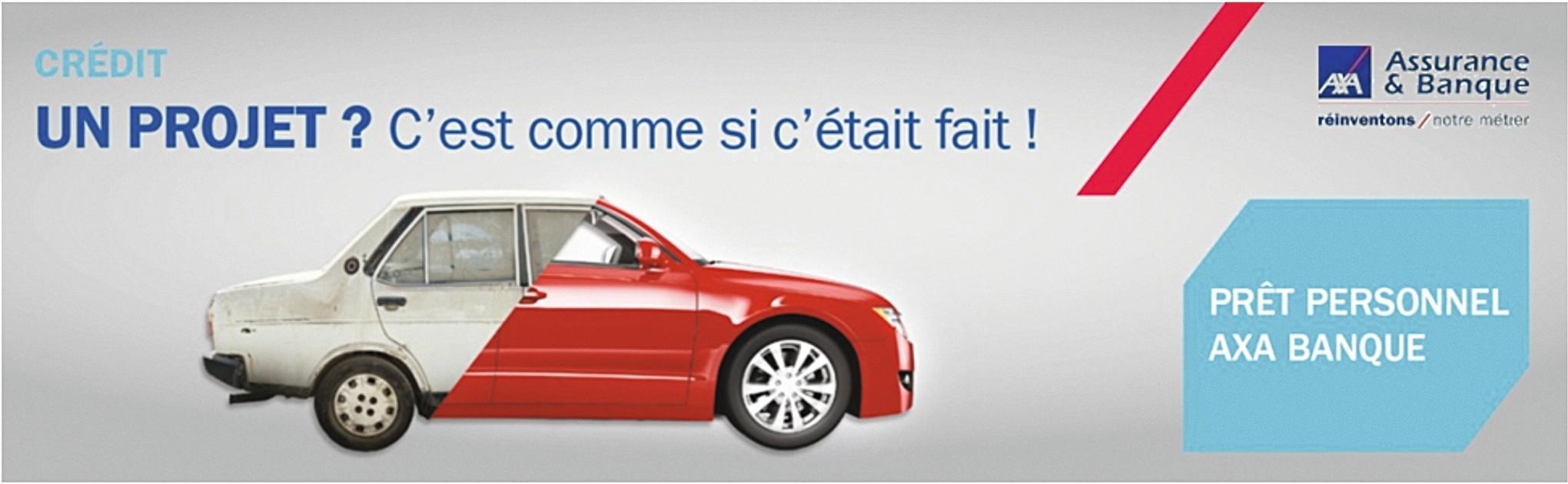 publicité Banque et Assurance AXA