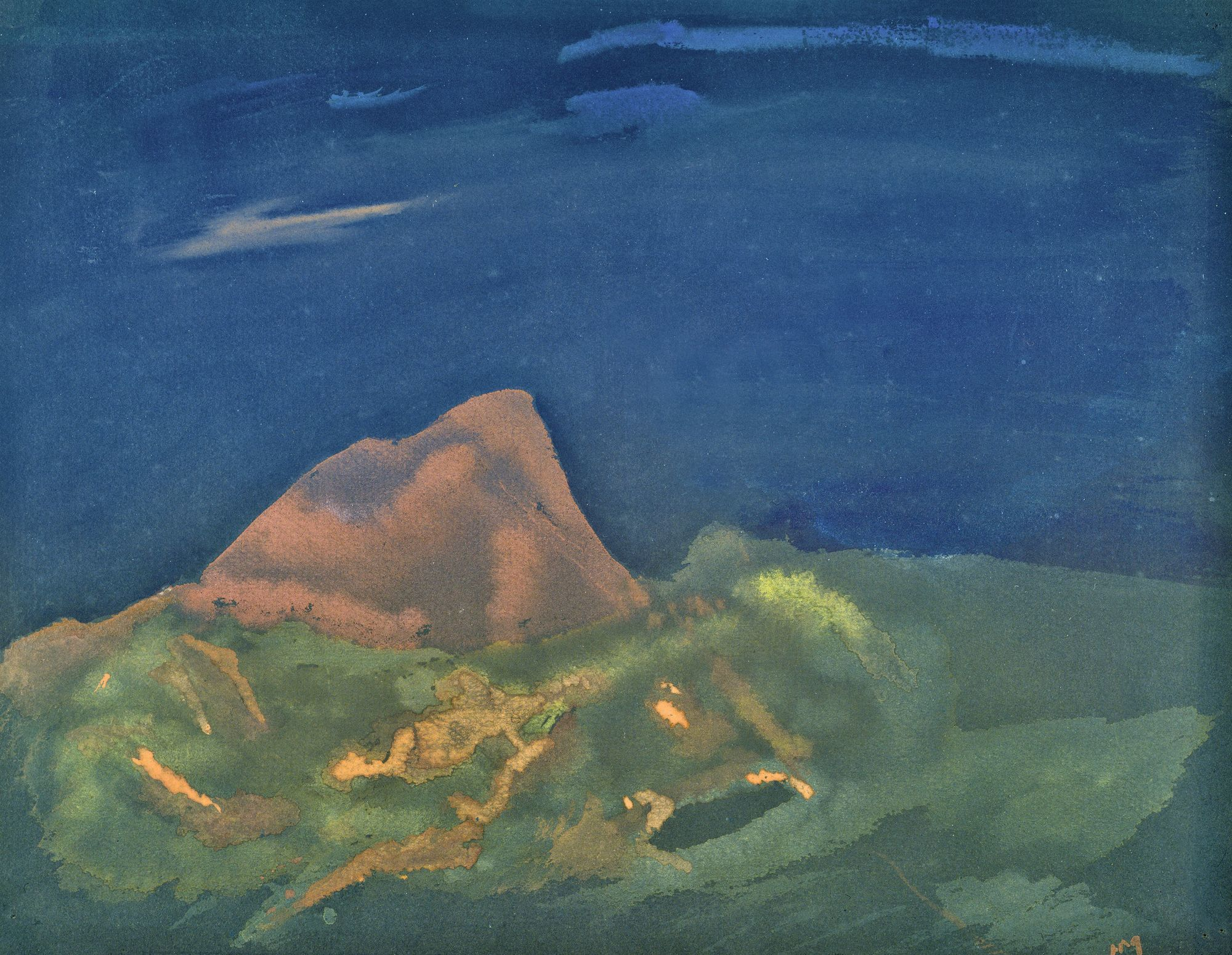 Henri Michaux La Cordillère des Andes