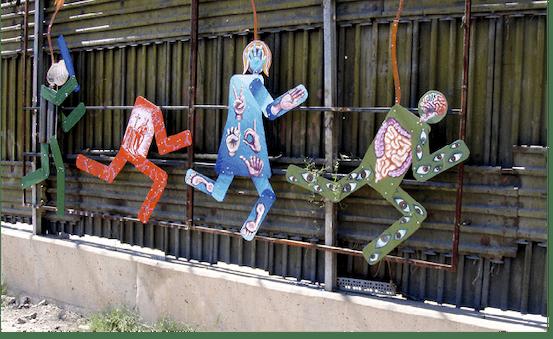 Daniel Lobo, El muro fronterizo, 2007.