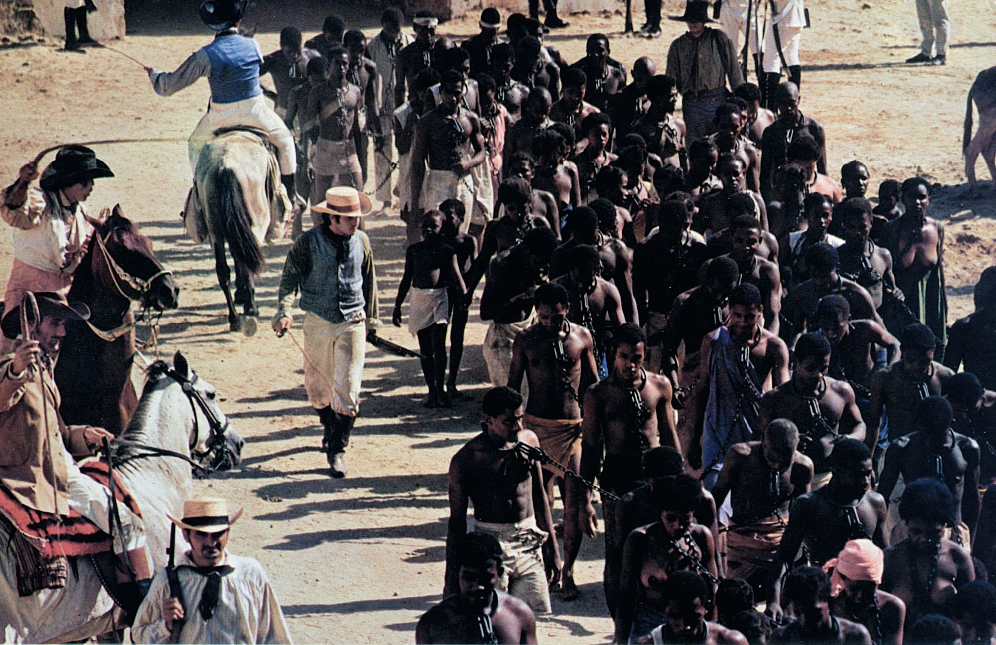Slavery, still from  the film Queimada,  1969.
