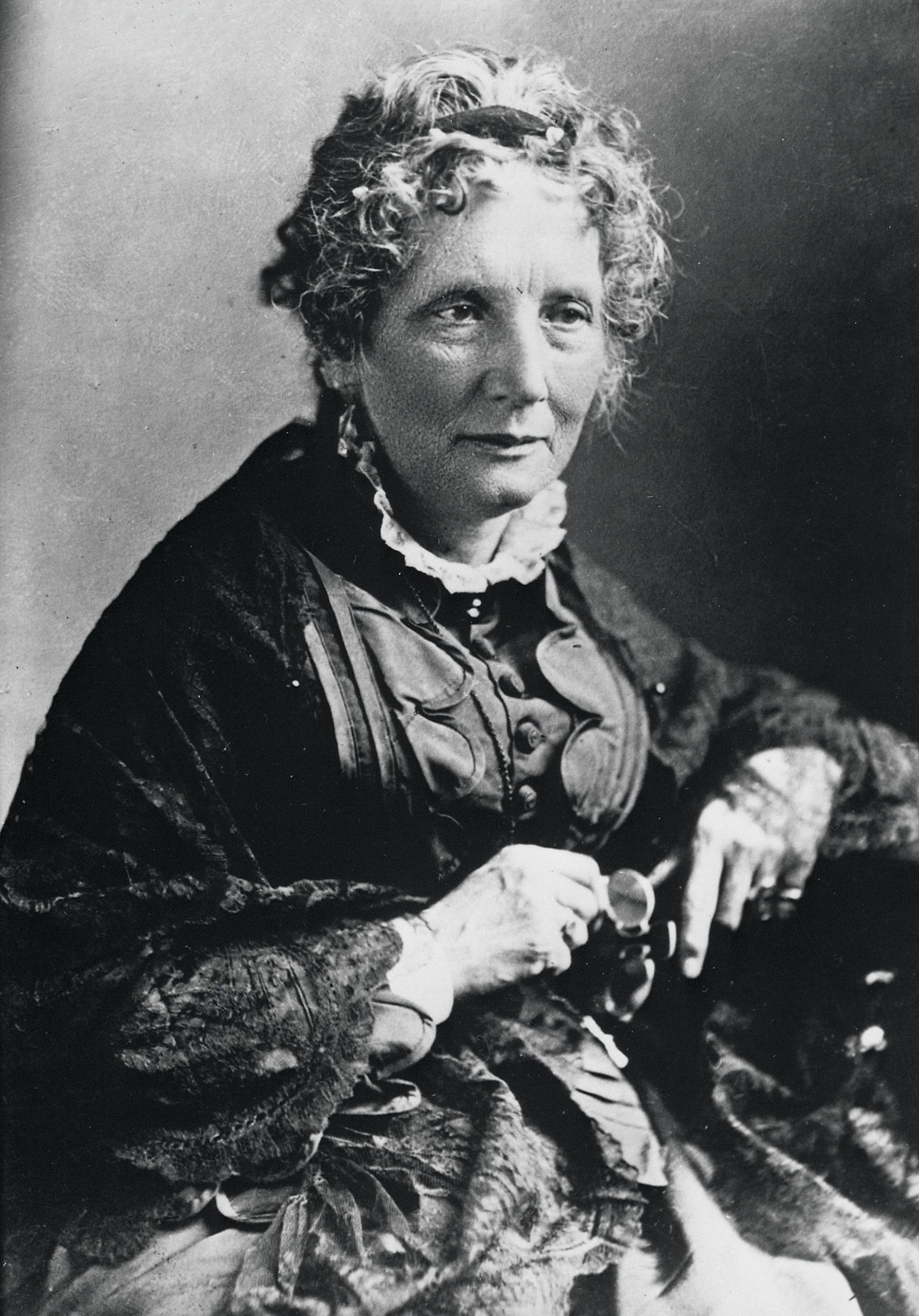 Harriet Beecher Stowe, 1870s-80s, Uncle Tom's Cabin, 1852.
