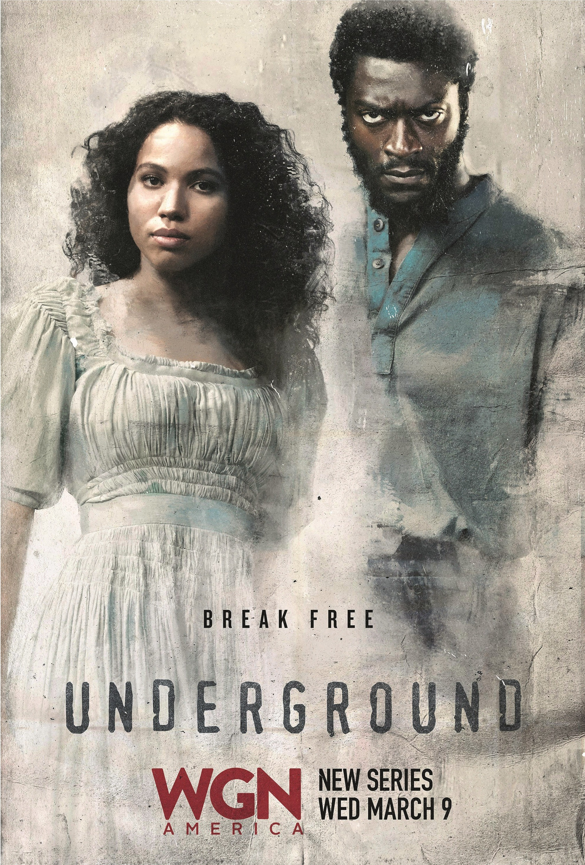 Underground, by Joe Pokaski and Misha Green, 2017.