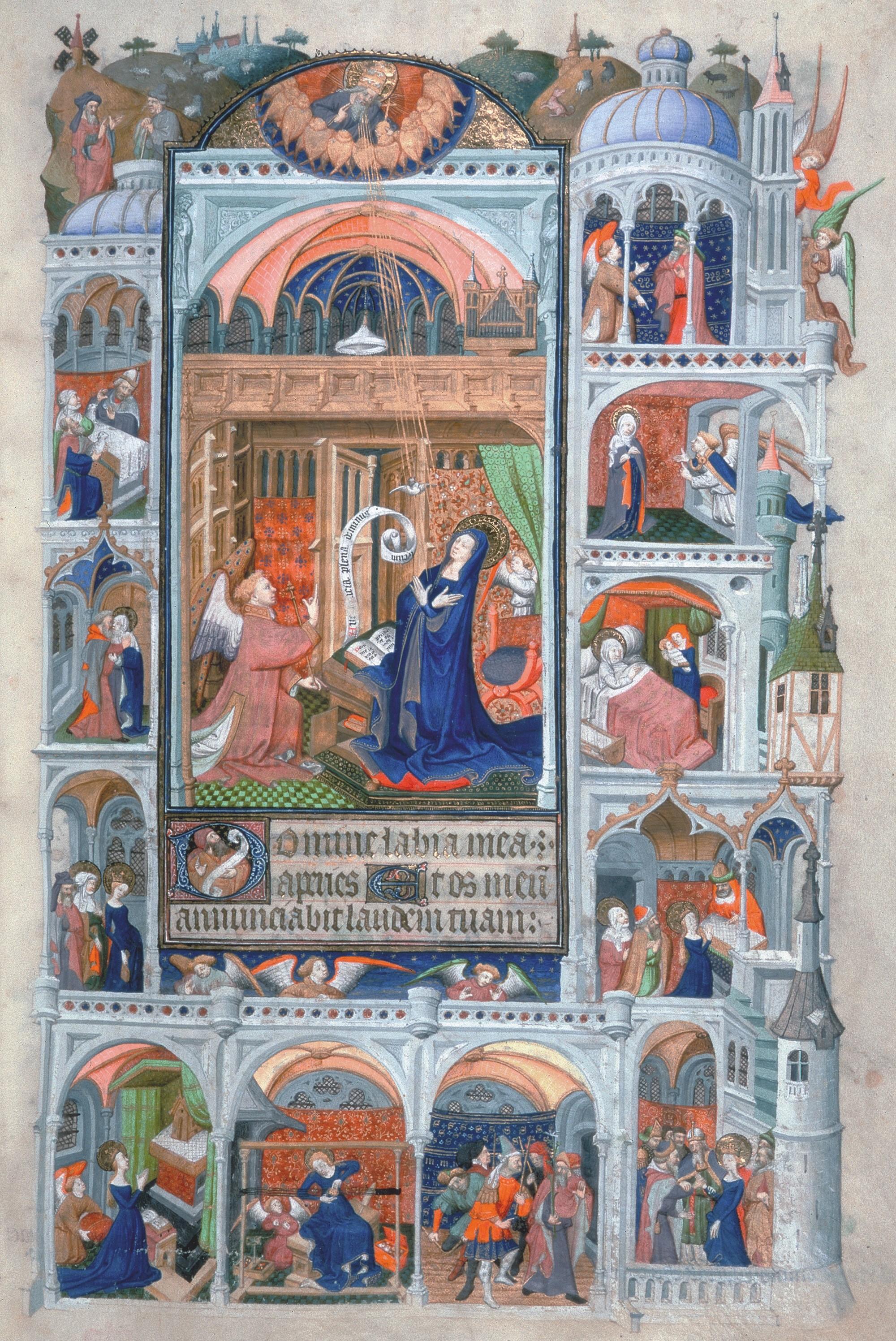Maître de Bedford (enlumineur), Livre d'heures du duc de Bedford, vers 1430.